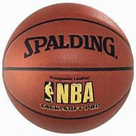 Баскетбольный мяч Spalding NBA Track Soft Pro 64-616Z