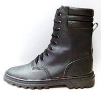 Ботинки с завышенными берцами юфть/кирза кпп