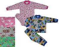 Пижама на 2-х кнопках(начес)