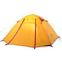 Палатка 2-х местная NatureHike P-Series II полиэстер оранжевый NH15Z003-P