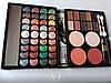 Набор для макияжа Палитра теней MAX MAR 04 в пенале все перламутровые тени + пудры+румяна