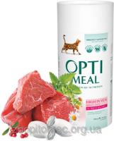Сухой корм для кошек С уткой Optimeal (Оптимил) вывод шерсти 0,65 кг