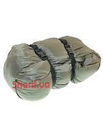 Спальный мешок-одеяло Max Fuchs двухслойный Hollow Fiber Olive 31642B