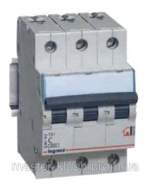 Автоматический выключатель 3р 32А Legrand TX3