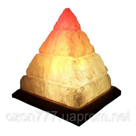 Соляная лампа Пирамида Египетская 4-6 кг
