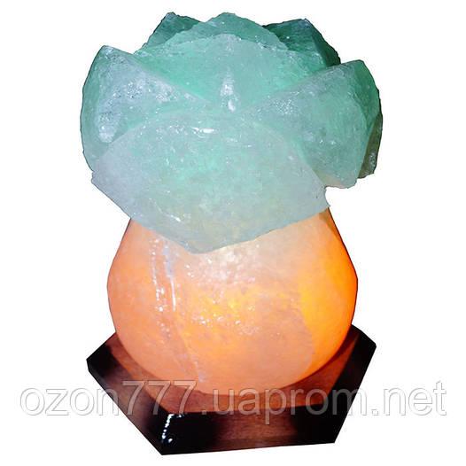 Соляная лампа Роза 3-4 кг