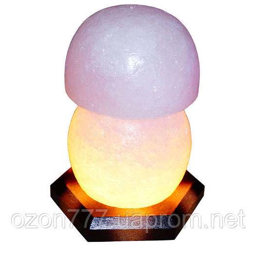 Соляная лампа Гриб 3-4 кг