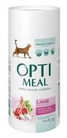 Сухой корм для кошек С ягненком Optimeal (Оптимил) с чувствительным пищеварением 0,65