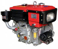 Дизельный двигатель BULAT R180NE (8,0 л.с., дизель, водяное охлаждение, электростартер)