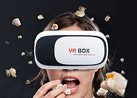 Шлем виртуальной реальности VR BOX 2.0 пульт в подарок