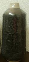 Нитка резинка №42 Черная.Китай (400гр)