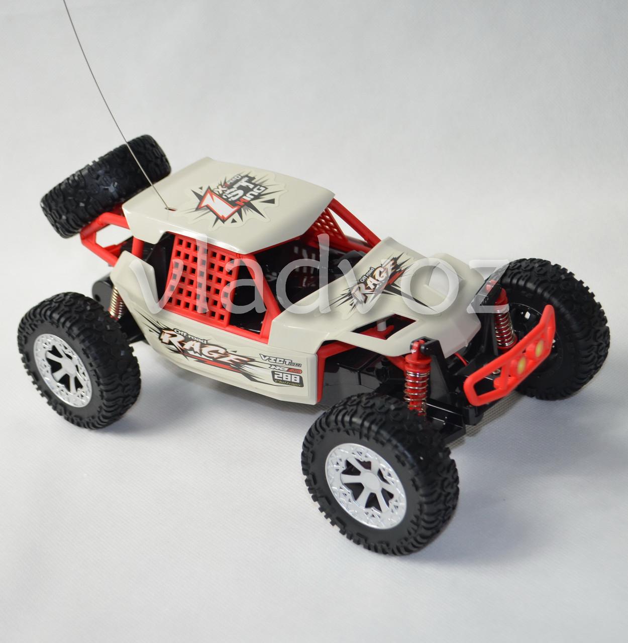Машинка на радио управлении модель багги X-rave белая
