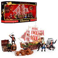 Пиратский корабль для детей