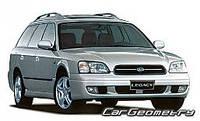 Лобовое стекло Subaru LEGACY III,Субару Легеси 1999-2003AGC