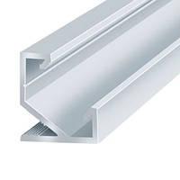 Профиль алюминиевый LED угловой 1000*17*17