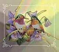 Набор для вышивки бисером Пара птиц №1, Идейка (ВБ 2000)