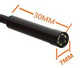 Инспекционная ВЕБ-камера эндоскоп 15м 7мм, фото 3