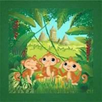 Вышивание бисером Идейка (ВБ 1052) Три обезьянки