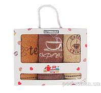 Набор махровых полотенец в коробке Altinbasak Expresso 30х50 см - 3 шт