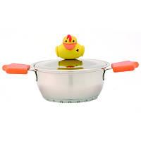 Кастрюля Sheriff Duck с крышкой, объемом 1,2 л, фото 1