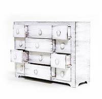 Деревянный органайзер для косметики и украшений 12 отделений
