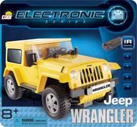 Конструктор COBI Джип Вранглер желтый (США) с д/у  COBI-21921