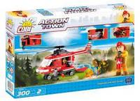 Конструктор COBI Пожарный вертолет , 300 деталей COBI-1473