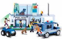 Конструктор COBI Штаб-квартира полиции , 420 деталей COBI-1574