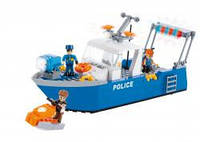 Конструктор COBI Полицейский патрульный катер , 260 деталей COBI-1577
