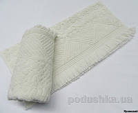 Полотенце с бахромой Arya Ayca кремовое 70х140 см