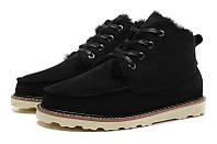 Мужские ботинки UGG David Beckham Boots черные