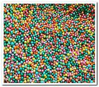 Шарики  ассорти с зеленым посыпка сахарная декоративная 40 гр