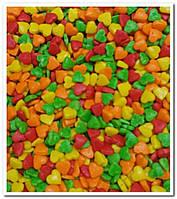 Сердечки разноцветные ассорти посыпка сахарная декоративная 500 гр
