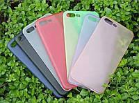 Полупрозрачный цветной чехол FSHANK для iPhone 7 / iPhone 8, фото 1
