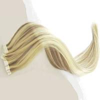 Натуральные волосы для ленточного наращивания 60 см. Оттенок №12-613.