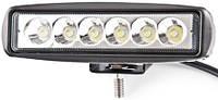Дополнительная светодиодная LED фара BELAUTO 1320 Лм 18 Вт 6 светодиодов 6000 К BOL0203F (рассеивающий)