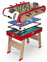 Деревянный полупрофессиональный стол Power Play. 4 в 1, 120 х 90 х 86 см, 8+