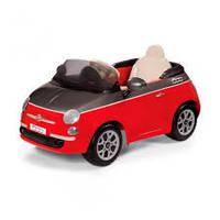 Дитячий електромобіль FIAT 500 Red RC-control, Peg-perego, фото 1