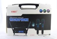 Микрофон UKC DM-5000 база+ 2 радиомикрофона