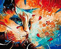 Набор для рисования 40×50 см. Она всегда была немного кошкой Художник Наушад Вахид