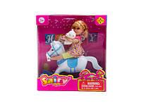 Кукла defa з  коником   (коробка) 8296р.16,5х6х15см.