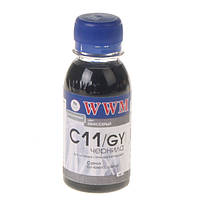 Чернила wwm для canon cli-426g/cli-521g 100г grey Водорастворимые (c11/gy-2)