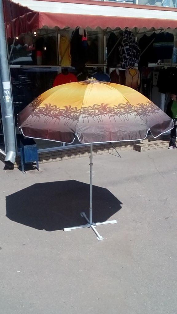 Зонт пляжный пальма диаметр 2,5 м