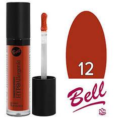 Bell HypoAllergenic - Блеск для губ Shiny LipGloss Тон №12 coral, глянцевый