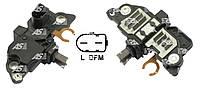 Реле-регулятор зарядки генератора Ford Transit 2.4 TD - 2.4 TDi (02-06). Интегралка, шоколадка.. ARE0008