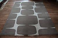 Красивейший плотный толстый ковер из шерсти в современном стиле, фото 1