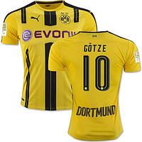 Футбольная форма Боруссия Дортмунд Гётце (Borussia Dortmund Gotze) 2016-2017 Домашняя