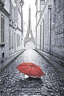 Схема для вышивания бисером Парижский дождик (красный) AX2-031