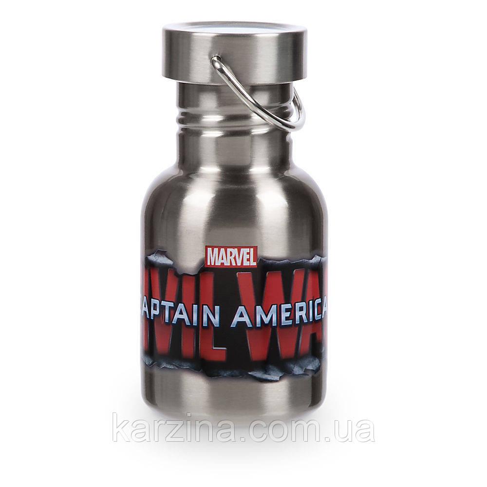 Металическая бутылка Disney Store Captain America