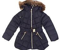 Детский зимний пуховки девочка оптом